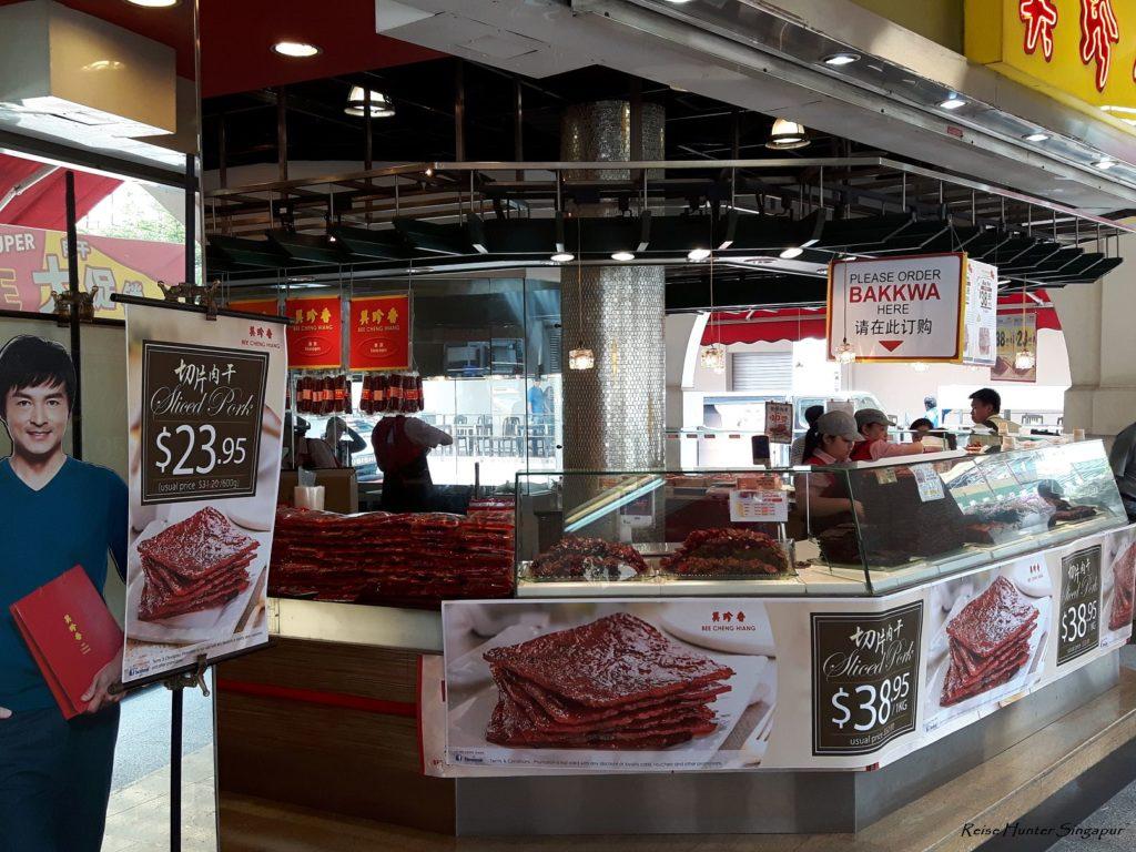 Reise Hunter Singapur Food Beef Jerky