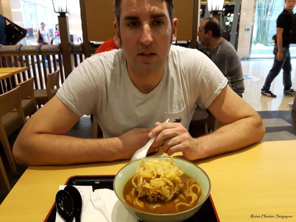 Reise Hunter Singapur Food Udon