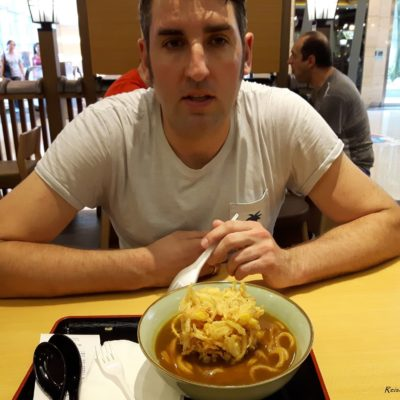Reise Hunter Singapur Food Udon