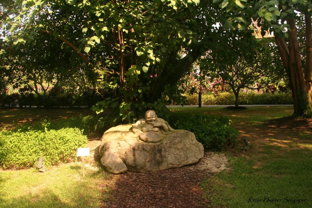 Reise Hunter Singapur Garden by the bay Buddha