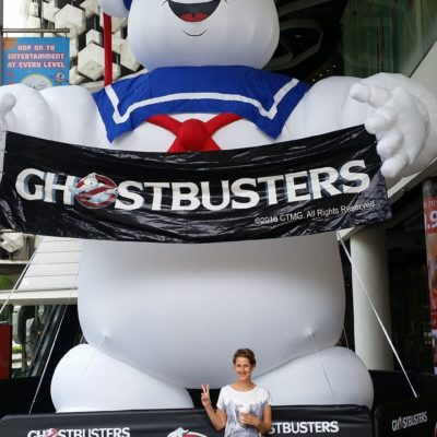 Reise Hunter Singapur Ghostbusters