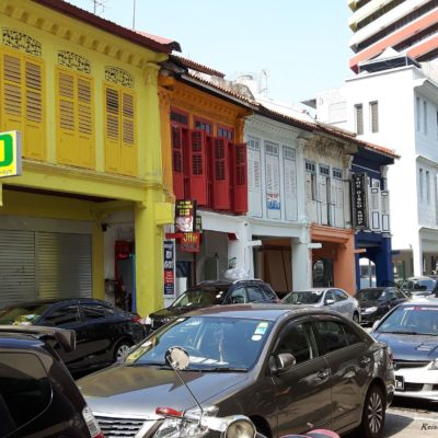 Reise Hunter Singapur Little India Straße