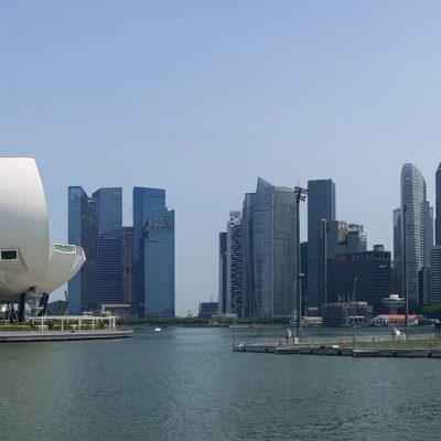 Reise Hunter Singapur Marina Bay Panorama