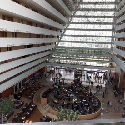 Reise Hunter Singapur Marina Bay Sands Hotel Innen