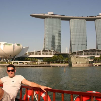 Reise Hunter Singapur Marina Bay Tower  Bootstour