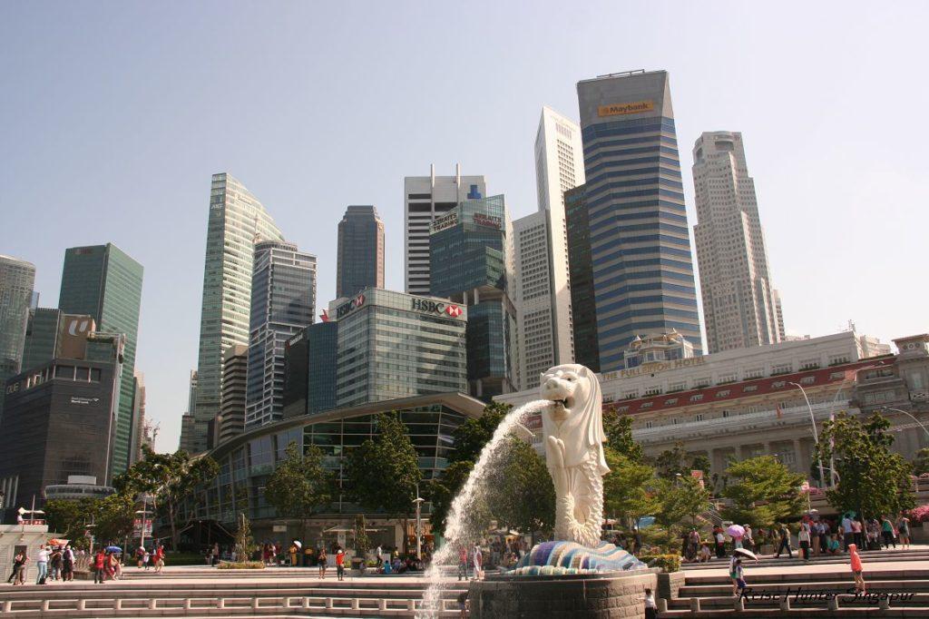 Reise Hunter Singapur Meerlion