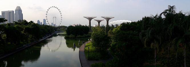 Reise Hunter Singapur Panorma weit