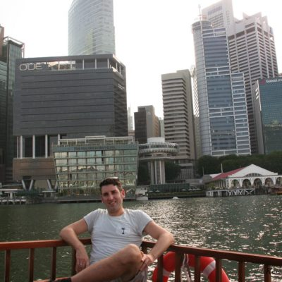 Reise Hunter Singapur Skyline Boot DJ