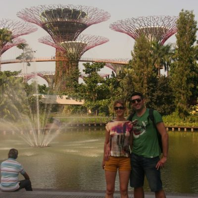 Reise Hunter Singapur Super Trees J und D