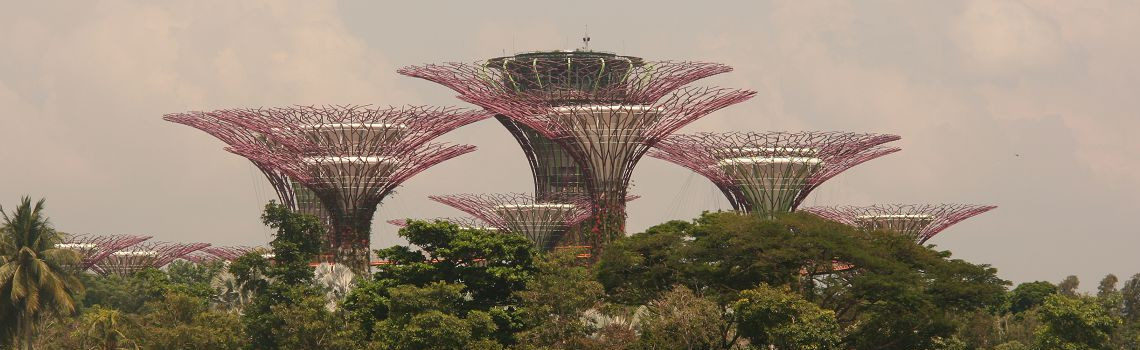 Reise Hunter Singapur Super Trees Titel