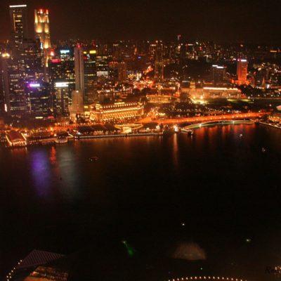 Reise Hunter Singapur von oben