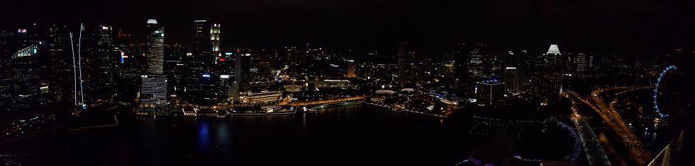 Reise Hunter Singapur von oben Panorama