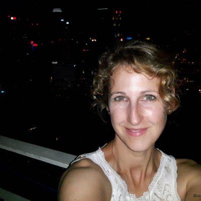 Reise Hunter Singapur von oben und Judith