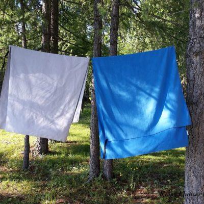 Reise Hunter Mongolei Reisehandtücher und Wäscheleine