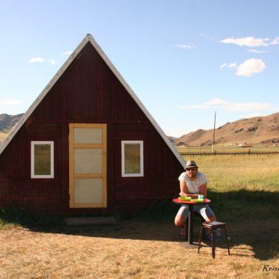 Reise Hunter Mongolei Übernachtung Holzhaus