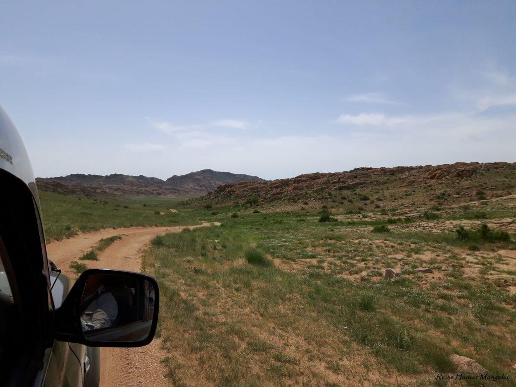 Reise Hunter Mogolei Autofahrt Landschaft