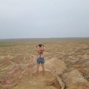 Reise Hunter Mogolei Bergformation Judith