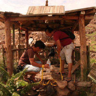 Reise Hunter Mongolei Brunnen