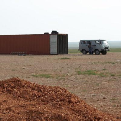 Reise Hunter Mogolei Container werden zu Lagerräumen