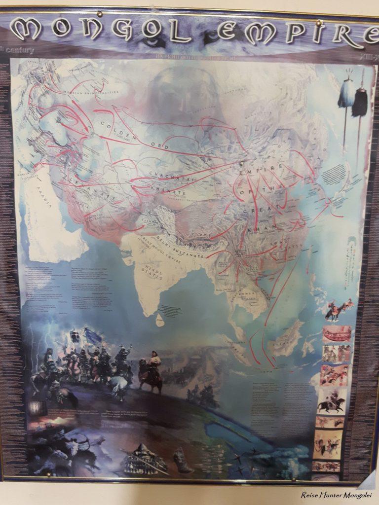 Reise Hunter Mogolei Dschingis Khans Eroberungsrouten