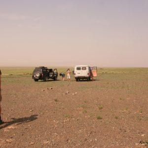 Reise Hunter Mongolei Einsame Autos