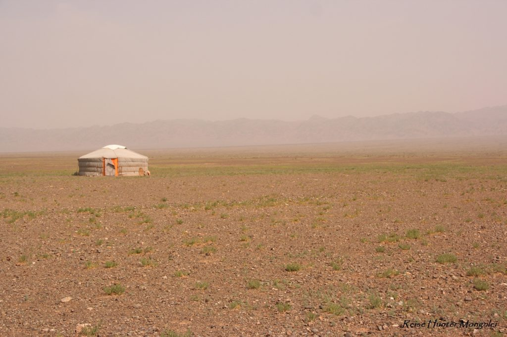 Reise Hunter Mongolei Einsame Jurte