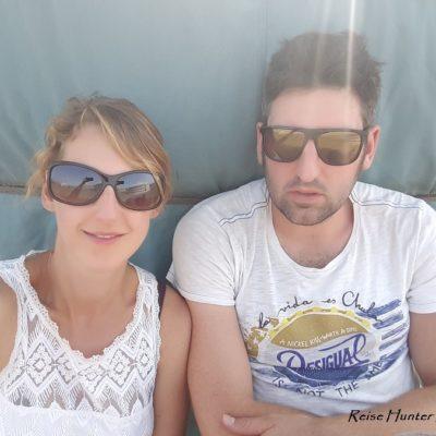 Reise Hunter Mogolei Entspannung an der Jurte  bei 40 Grad