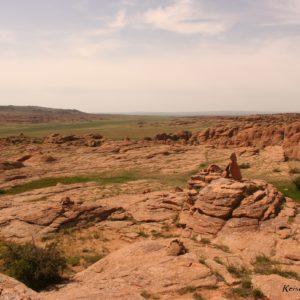 Reise Hunter Mongolei Fels2