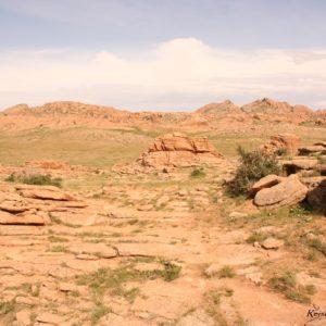 Reise Hunter Mongolei Fels6