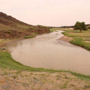 Reise Hunter Mongolei Fluss an Unterkunft