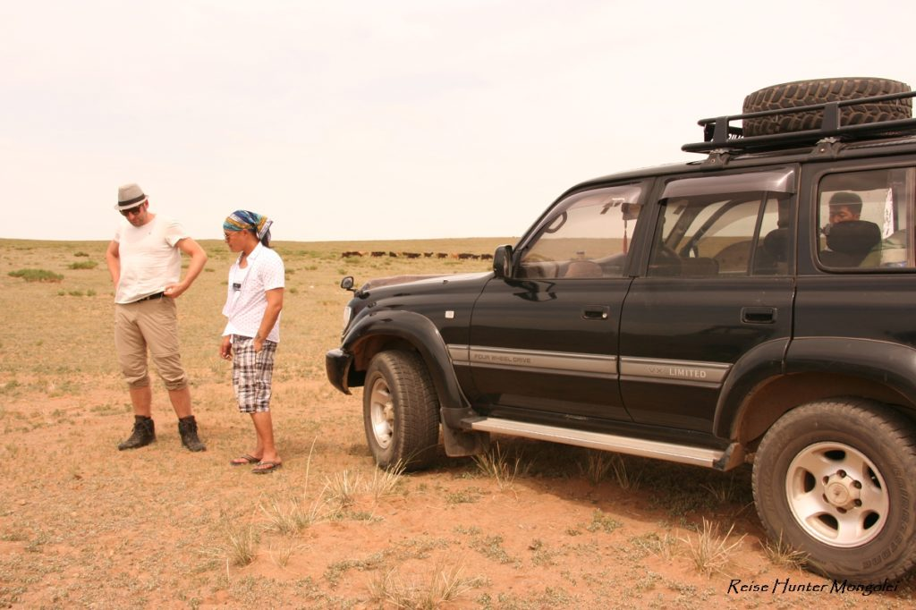 Reise Hunter Mongolei Jeep