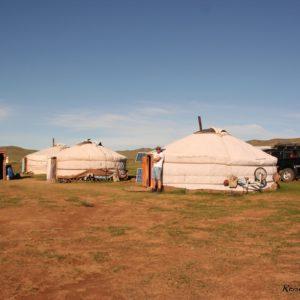 Reise Hunter Mongolei Jurte