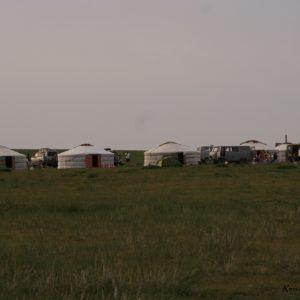 Reise Hunter Mongolei Jurtenformation
