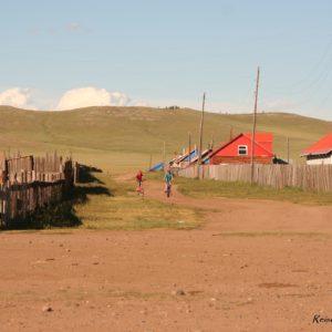 Reise Hunter Mongolei Kleine Ortschaft6