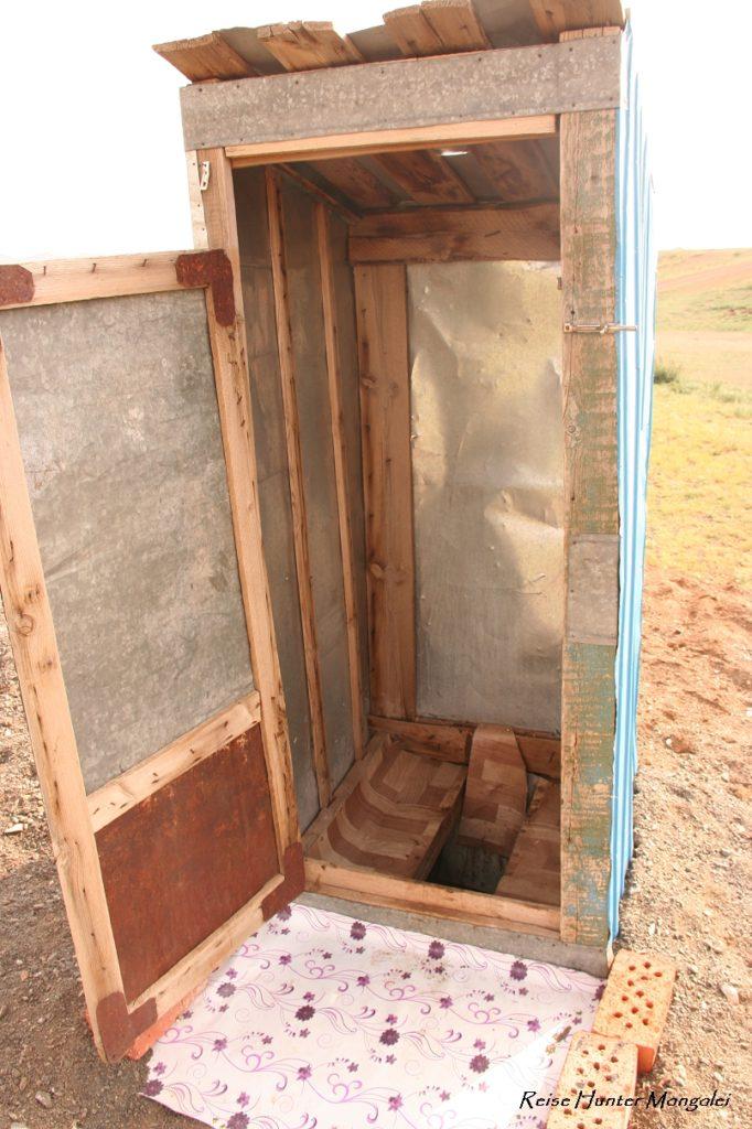 Reise Hunter Mongolei Klo