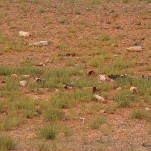 Reise Hunter Mongolei Müll