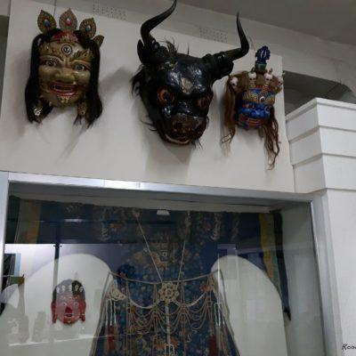 Reise Hunter Mogolei Masken historisch