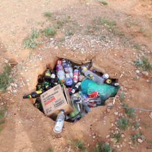Reise Hunter Mogolei Mongolische Müllentsorgung