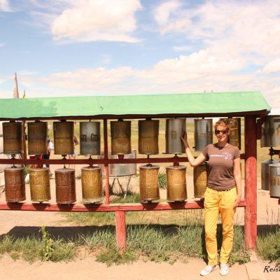 Reise Hunter Mongolei Murun Danzandarjaa Khiid Monastery Gebetsrollen