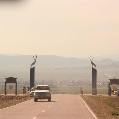Reise Hunter Mongolei Murun Einfahrt