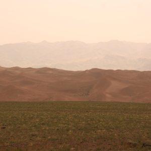 Reise Hunter Mongolei Sanddüne