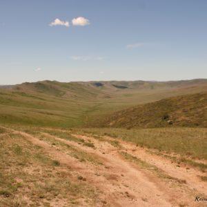 Reise Hunter Mongolei Straße