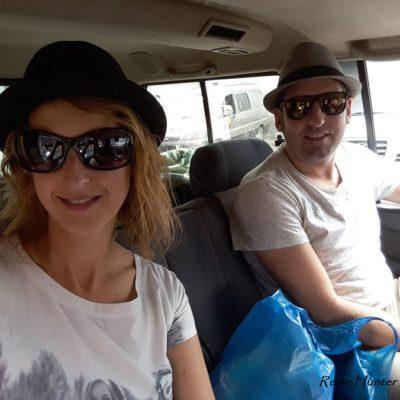 Reise Hunter Mogolei Unser Platz im Auto