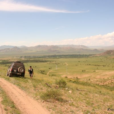 Reise Hunter Mongolei kurze Pause