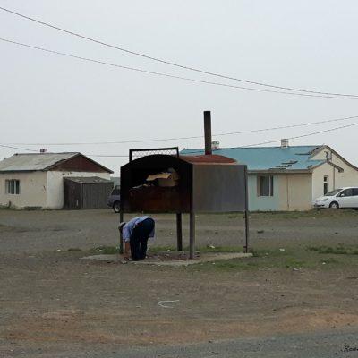 Reise Hunter Mogolei lokale Müllverbrennungsanlage ohne Worte
