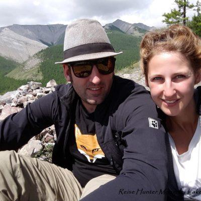 Reise Hunter Mongolei Bergselfi