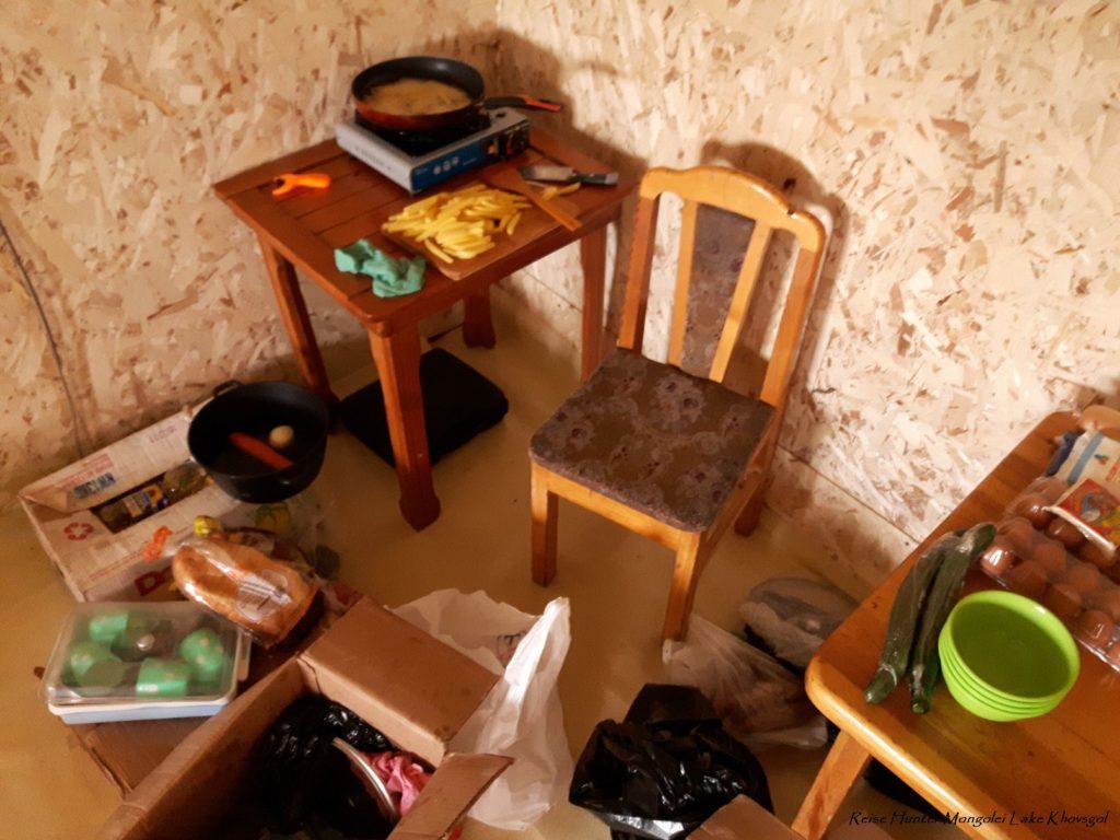 Reise Hunter Mongolei Bogis Küche