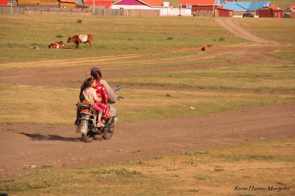 Reise Hunter Mongolei Motorad