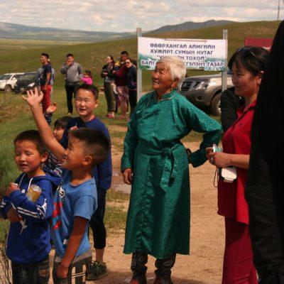 Reise Hunter Mongolei Oma im Gewand