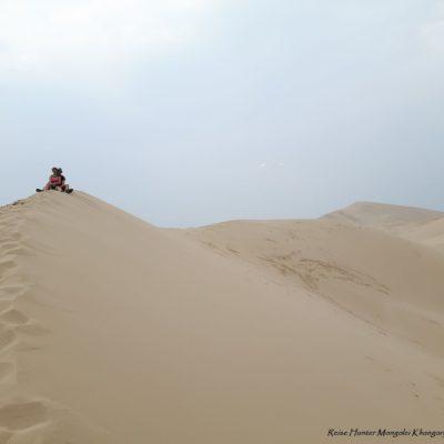 Reise Hunter Mongolei Sanddüne10